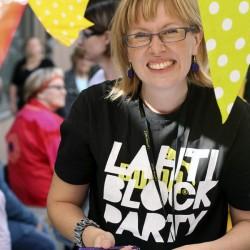 Historian ekasta Lahti Block Partystä 2012.